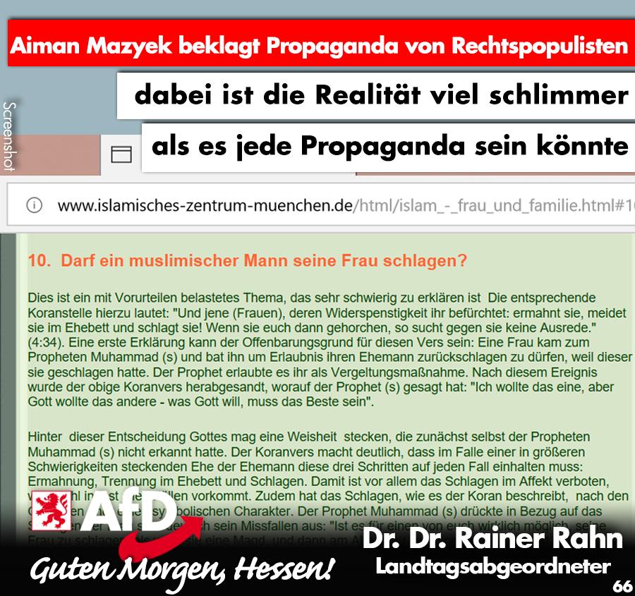 Aiman Mazyek Beklagt Propaganda Von Rechtspopulisten Dabei